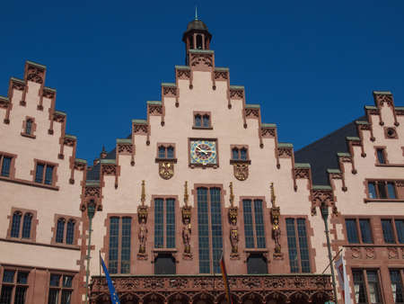 Frankfurt city hall aka Rathaus Roemer Germany Stock Photo - 20342817