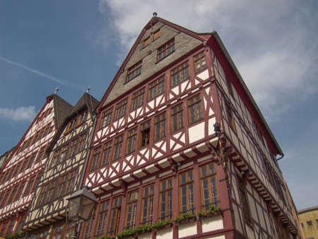 roemer: Frankfurt city hall aka Rathaus Roemer Germany Stock Photo