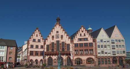 roemerberg: Roemerberg old city in Frankfurt am Main Germany