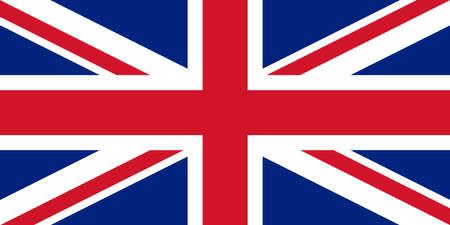 inglese flag: Ufficiale bandiera del Regno Unito del Regno Unito aka Union Jack