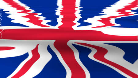 Union Jack flag of the United Kingdom (UK) photo