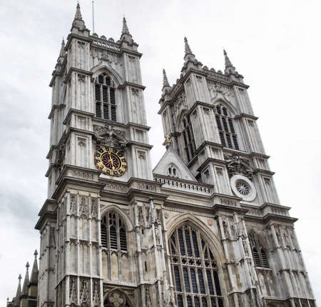The Westminster Abbey church in London, UK  photo