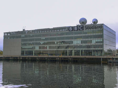 GLASGOW, SCOTLAND - SEPTEMBER 19: The BBC Scotland tv studios from where the XX Commonwealth Games 2014 will be broadcast worldwide on September 19, 2010 in Glasgow, Scotland