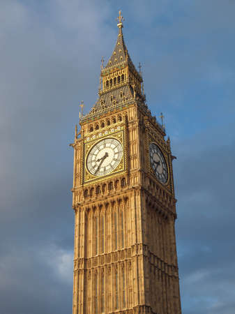 Big Ben Houses of Parliament Westminster Palace London gothic architecture photo