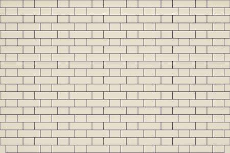 bond: Retro looking Vector illustration of an English bond brick wall