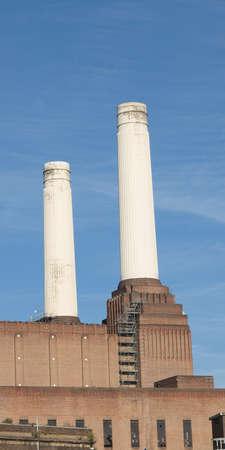 battersea: Battersea Power Station in London England UK