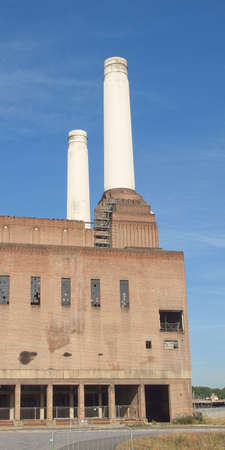Battersea Power Station in London England UK photo