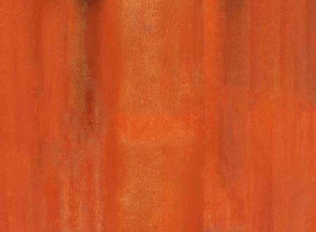 Rusted steel sheet