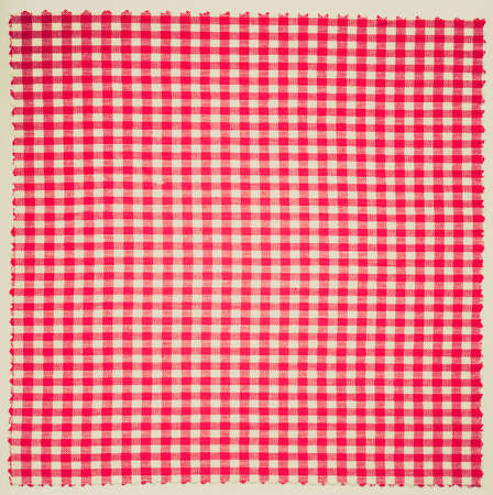 checker: Vintage retro looking Checker fabric cloth useful as a background