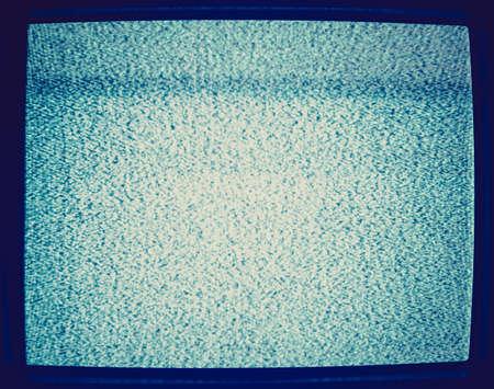 flickering: Vintage El ruido de fondo en busca de parpadeo pantalla del televisor desafinado