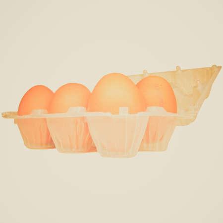 Vintage looking Eggs
