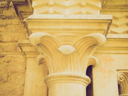 medioeval: Vintage looking Column capital