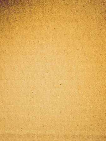 Vintage looking Brown corrugated cardboard useful as a background photo