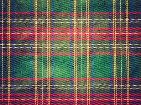 Vintage guardando tradizionale tartan scozzese pattern tessili utile come sfondo Archivio Fotografico