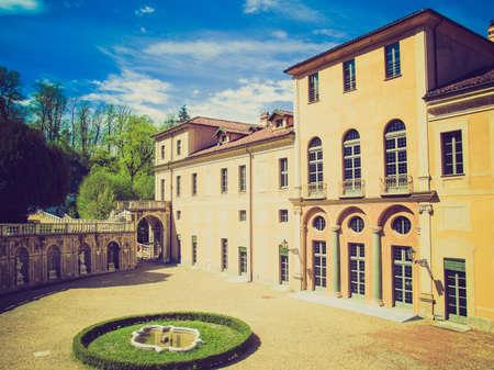 regina: Vintage looking The Villa della Regina in Turin Italy