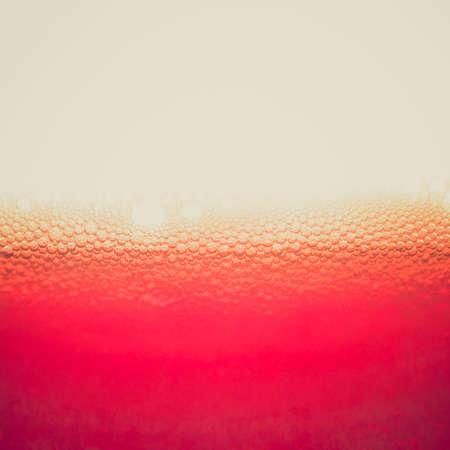 verm�: Vintage mirando la soda amarga o vermouth c�ctel con copia espacio Foto de archivo