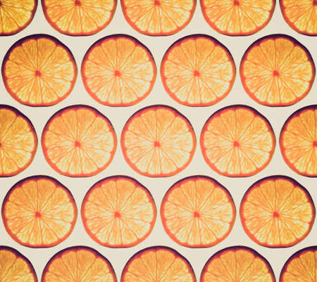 Vintage looking Seamless orange wallpaper useful as a background photo