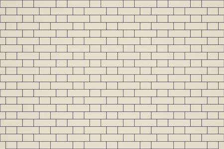 bond: Vintage looking Vector illustration of an English bond brick wall Stock Photo