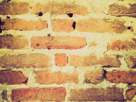 flemish: Vintage looking Old brick wall useful as a background