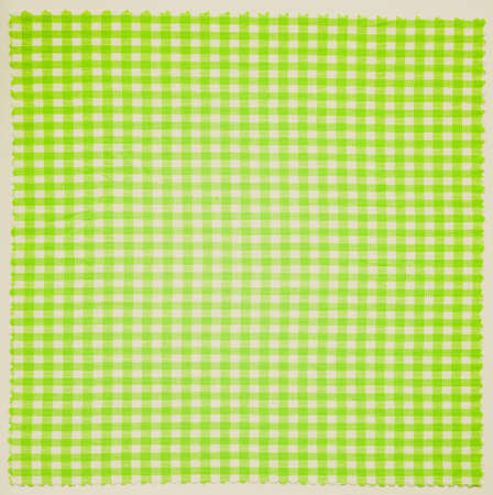 Vintage looking Checker fabric cloth useful as a background