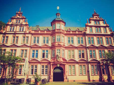 gutenberg: Vintage looking The Gutenberg Museum in Mainz in Germany