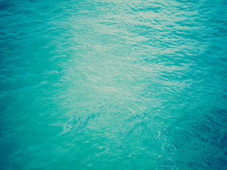 Vintage looking Blue water texture useful as a background