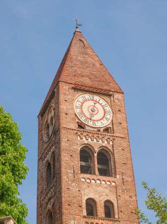 Santa Maria della Stella church steple photo