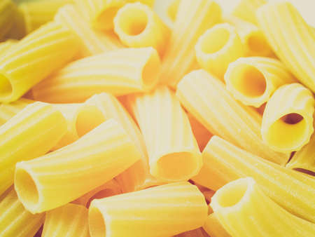 Vintage looking Detail of Macaroni pasta photo