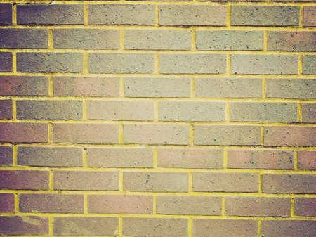 Vintage looking Red brick wall