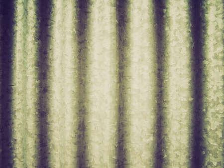 steel sheet: Vintage looking Corrugated steel sheet