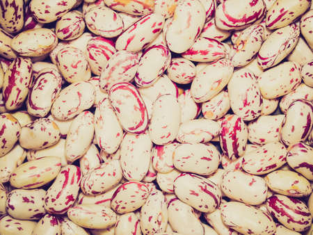 leguminosae: Vintage looking Picture of Beans soup salad food background