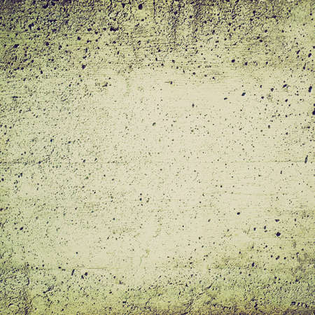 reinforced: Vintage looking Reinforced concrete wall useful as a background Stock Photo