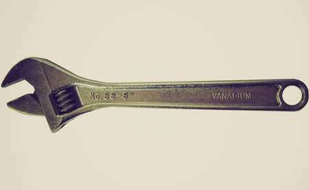 crescent wrench: Vintage looking Wrench spanner tool picture