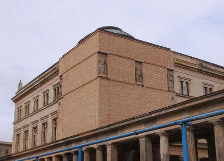 neues: Neues Museum in Museumsinsel in Berlin Germany Editorial