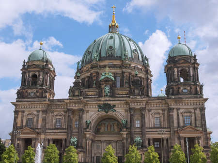 dom: Berliner Dom cathedral church in Berlin Germany