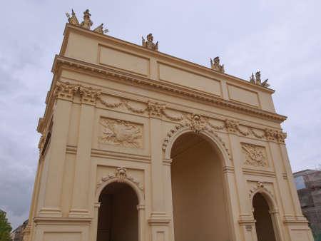 brandenburger tor: Brandenburger Tor Brandenburg Gate in Potsdam Berlin Germany Editorial