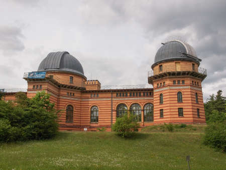 astrophysics: POTSDAM, GERMANY - MAY 10, 2014: Michelson Haus at Leibniz Institute for Astrophysics