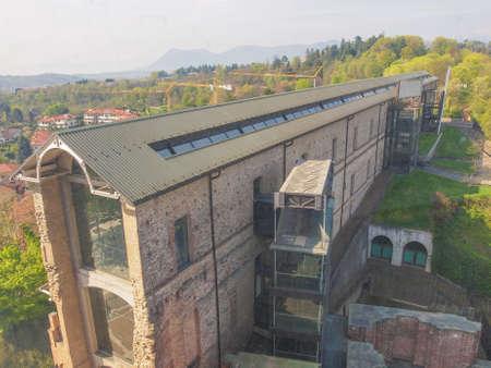 rivoli: Castello di Rivoli castle near Turin Italy