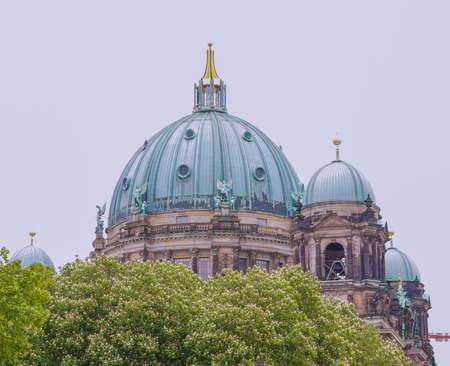 dom: Berliner Dom �glise cath�drale de Berlin Allemagne Banque d'images