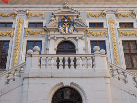 alte: The Alte Handelsboerse meaning Old Stock Exchange is one of the oldest baroque buildings in Leipzig Germany
