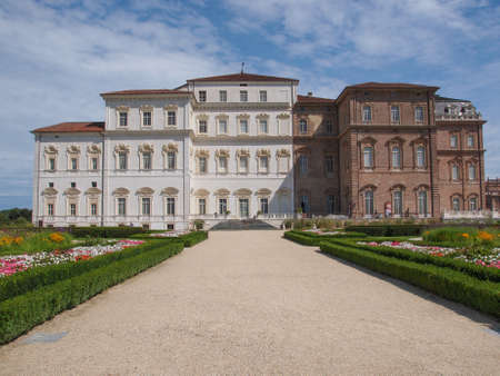 reale: Reggia baroque royal palace in Venaria Reale Turin Italy