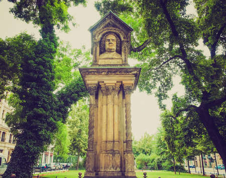 felix: The Altes Bach Denkmak meaning Bach old monument close to the St Thomas Church is the world oldest monument to Johann Sebastian Bach donated by Felix Mendelssohn Bartholdy in 1843 in Leipzig Germany