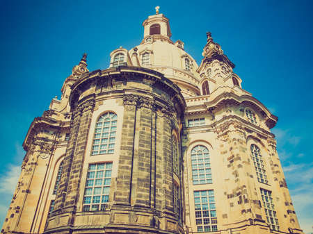 Dresdner Frauenkirche meaning Church of Our Lady in Dresden Germany photo