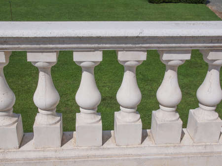 shafts: Alte barocke Balustrade Balustrade Wellen gemacht