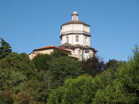 Church of Monte Dei Cappuccini Turin Italy