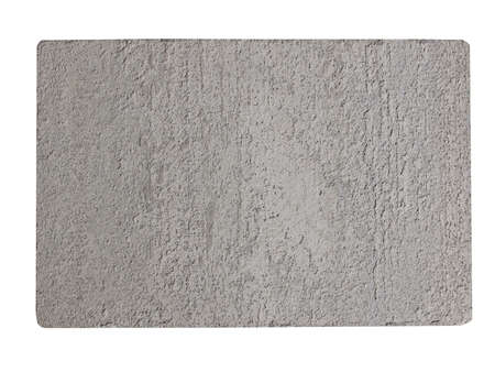 beton: Lightweight areated foamed concrete panel isolated over white Stock Photo