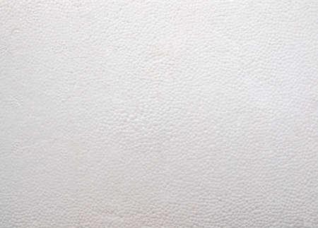 styrene: Expanded polystyrene sheet useful as a background Stock Photo