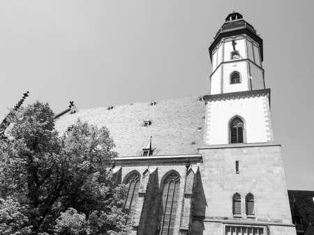 thomas: Thomaskirche St Thomas Church in Leipzig Germany  Stock Photo