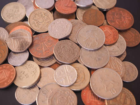 cent: British Pounds coins of the United Kingdom