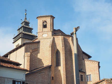 giorgio: Church of San Giorgio Meaning St George in Chieri Italy